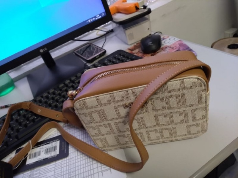 BOLSA CAMERA BAG OFF WHITE COLCCI